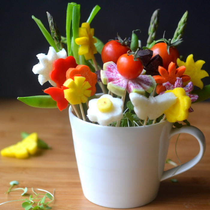 How to Make Edible Bouquets | The View from Great Island