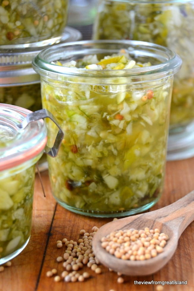 How to Make Homemade Old Fashioned Relish ~ the quick and easy way!