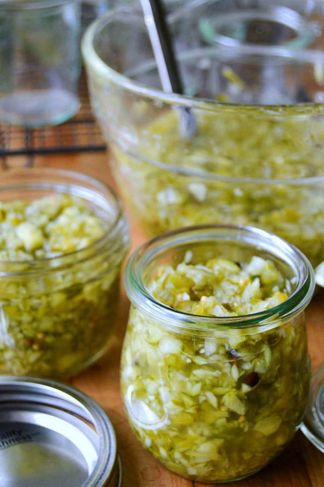 How to Make Homemade Old Fashioned Relish without canning!