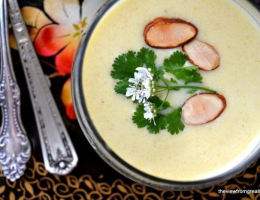 Chilled Cauliflower and Yogurt Soup 4