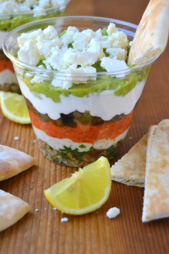 7 Layer MediterraneanDip Cups 2