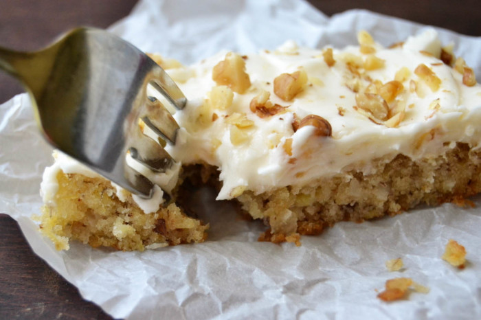 Hummingbird Cake Bars