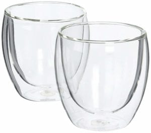 bodum double walled glasses