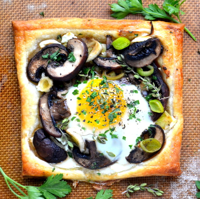 Mushroom and Egg Breakfast Pastries 10