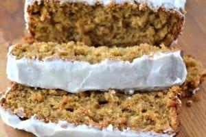 Apple Spice Cake with Nutmeg Glaze