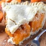 Midsummer Apricot Pie