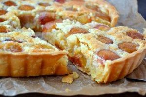 Rainier Cherry Almond Tart 8