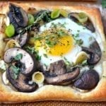 Mushroom and Egg Breakfast Pastries