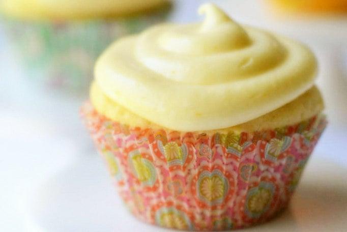 Peaches and Cream Cheese Cupcakes 4