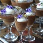 Dark Chocolate Pot de Creme (made in the blender!)