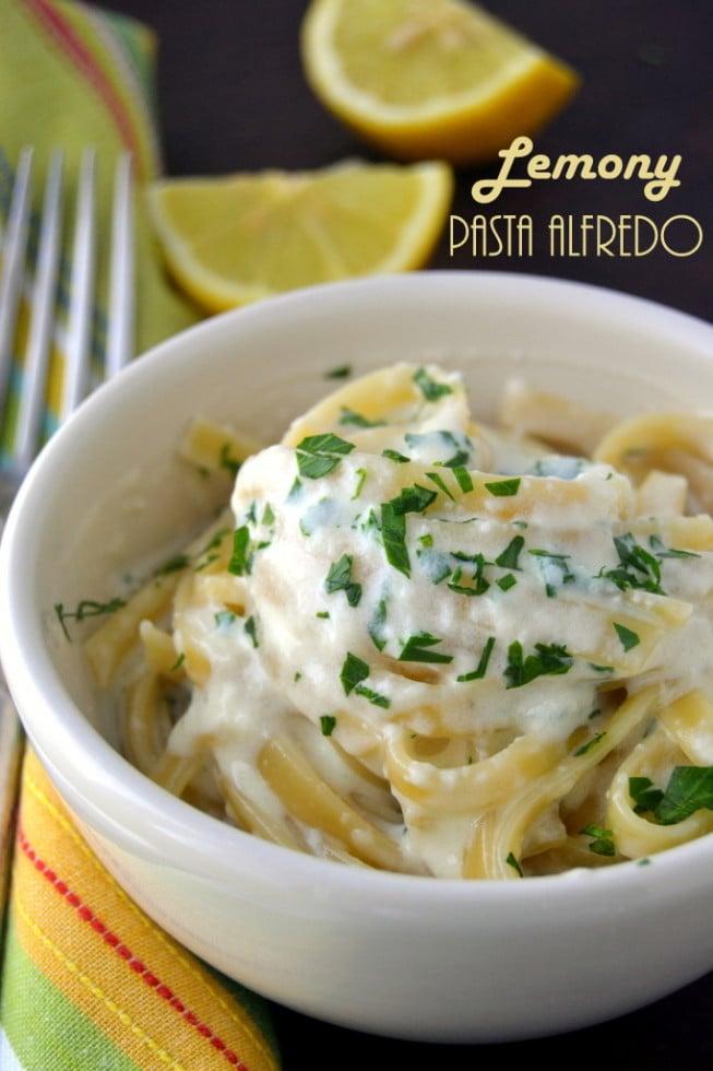 Lemony Fettucine Alfredo 2