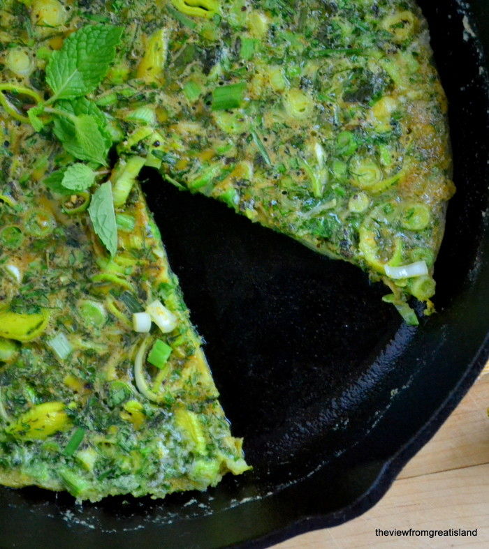 Persian Mixed Herb Frittata