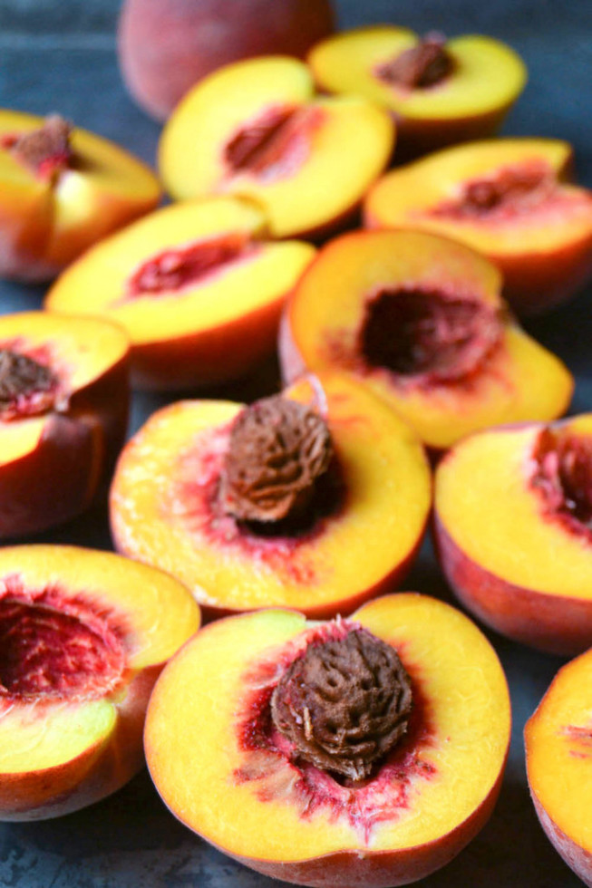 Fresh Peaches for Peach Butter