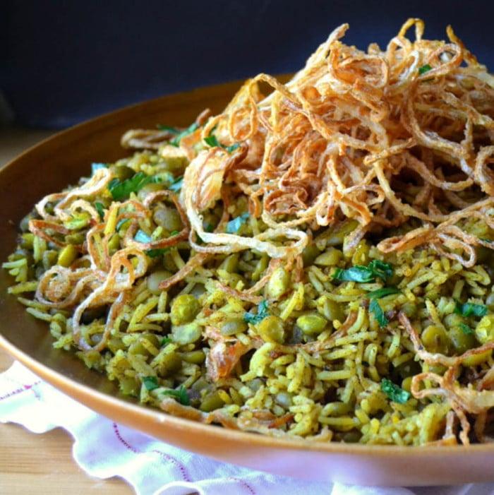 Gluten Free, Vegetarian Mejadra
