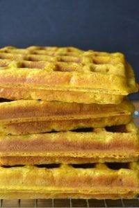 Pumpkin Toaster Waffles