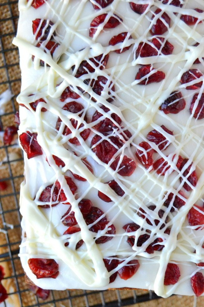 Better than Starbucks Cranberry Bliss Bread