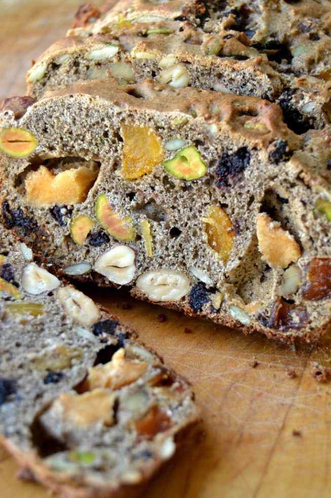 chunky fruit and nut quick bread 3