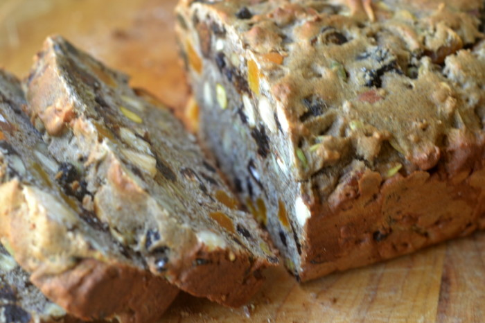 chunky Fruit and Nut Quick Bread 8