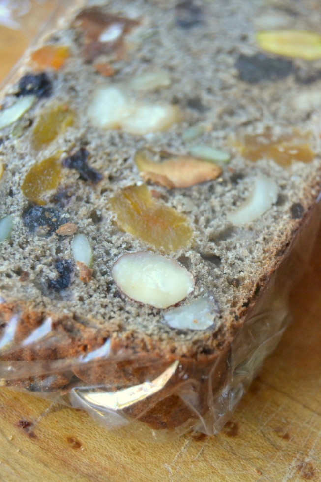 Chunky Fruit and Nut Quick Bread 7