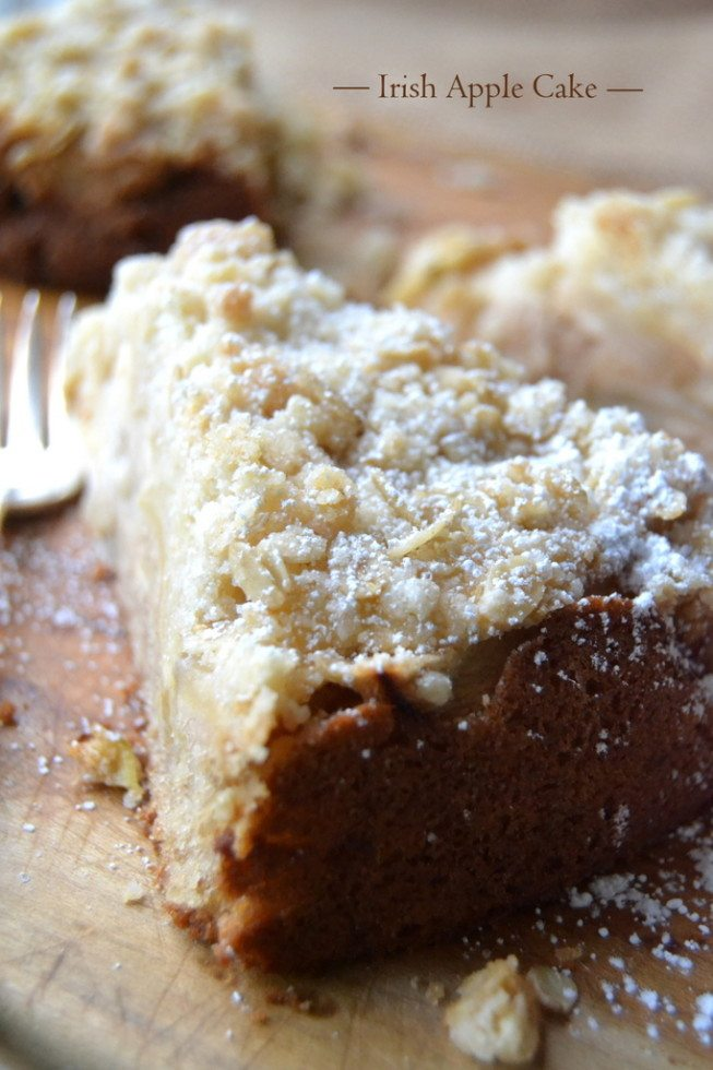 Authentic Irish Apple Cake