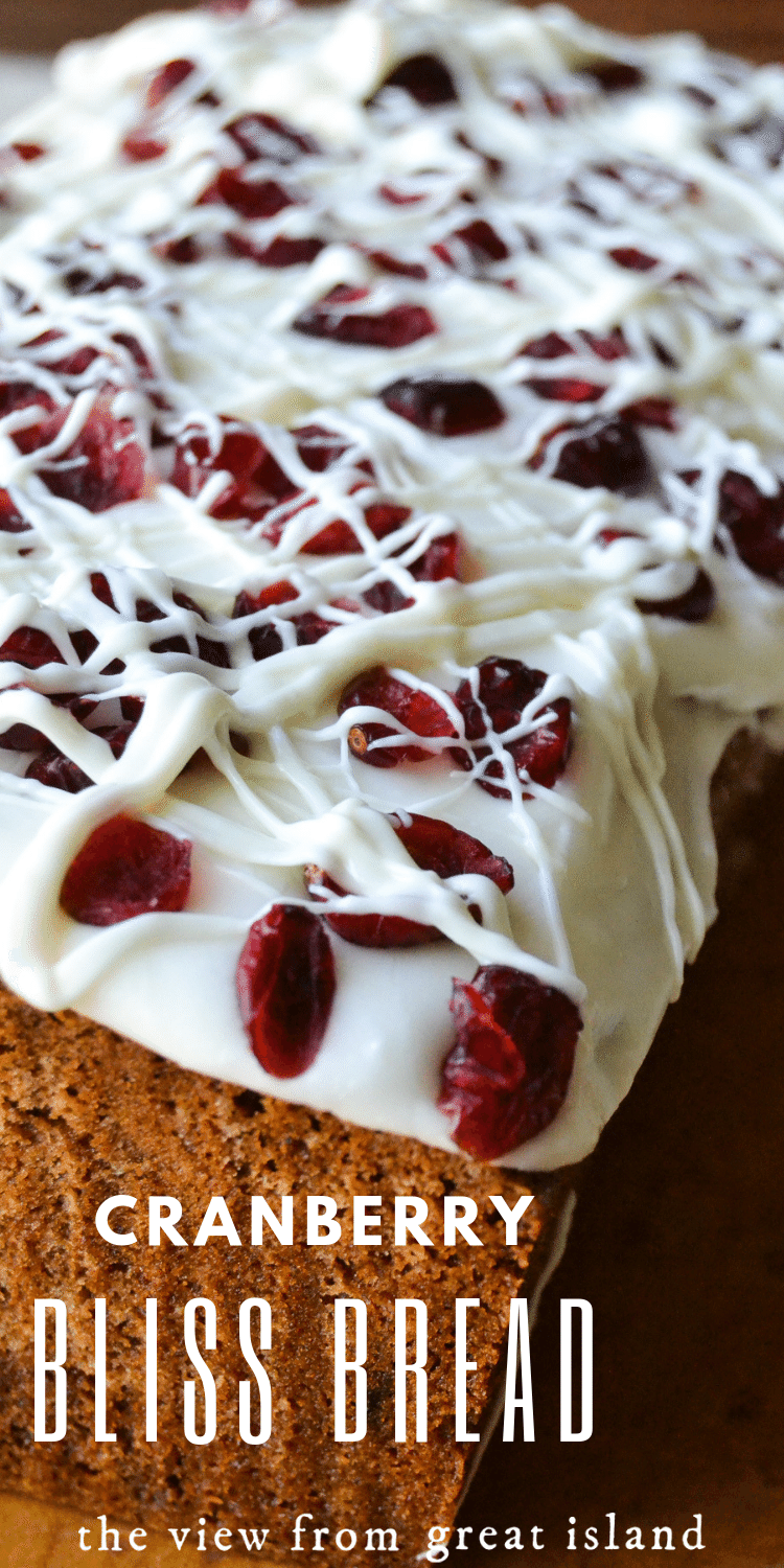 cranberry bliss bread pin
