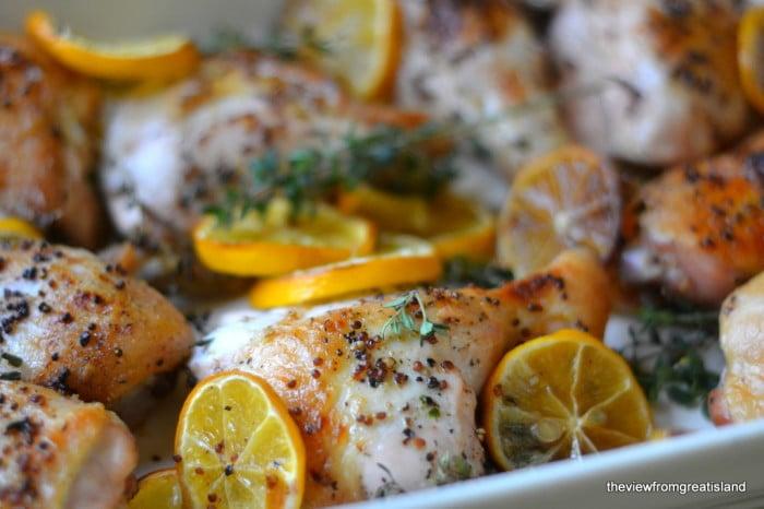 Meyer Lemon Roast Chicken