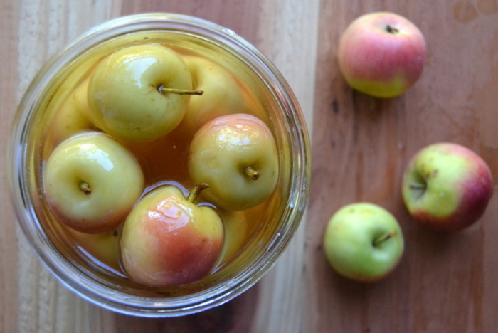Old Fashioned Spiced Crab Apples 3