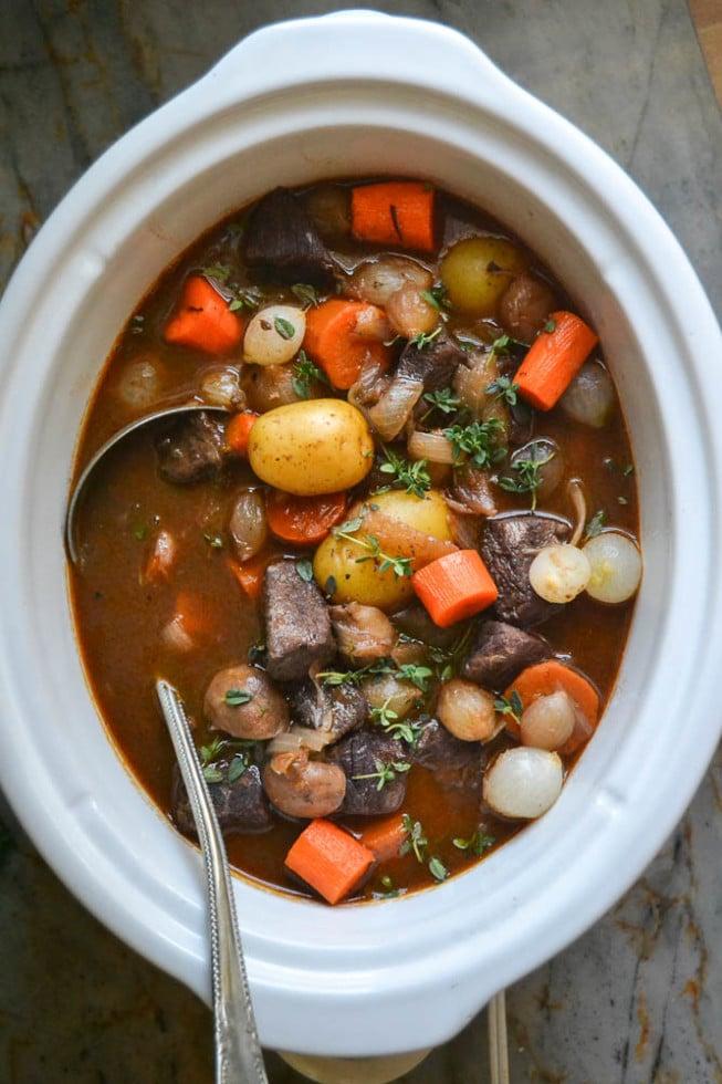 Beef Stew Crock Pot Yummly Crock Pot Beef B...