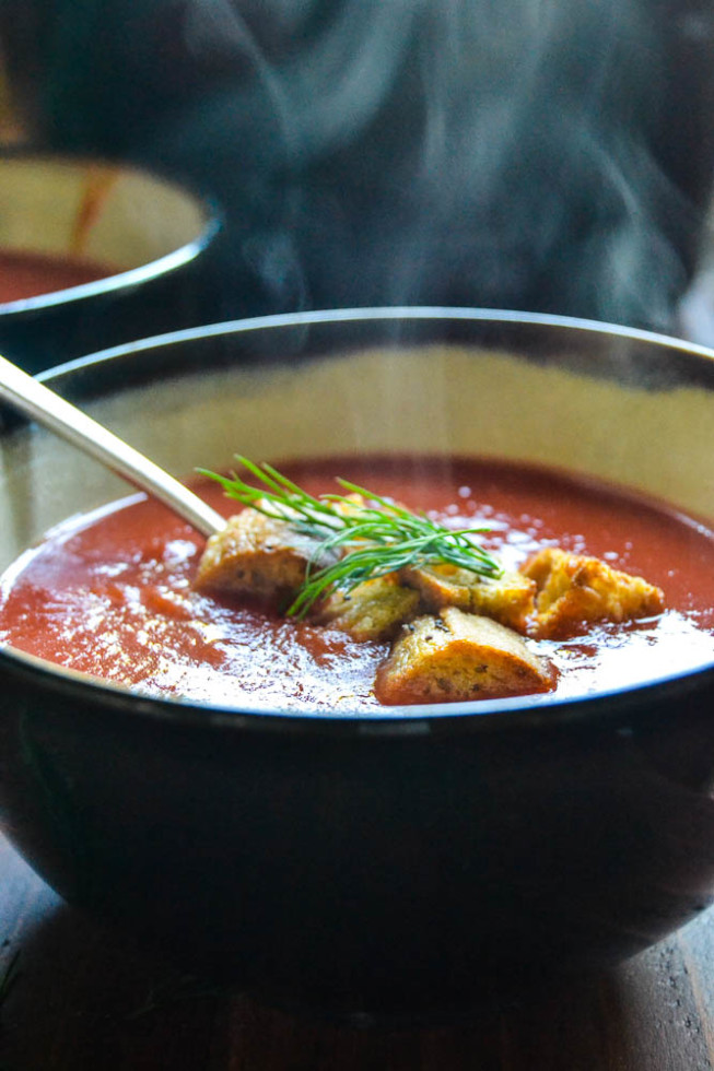 The perfect fall vegetable soup