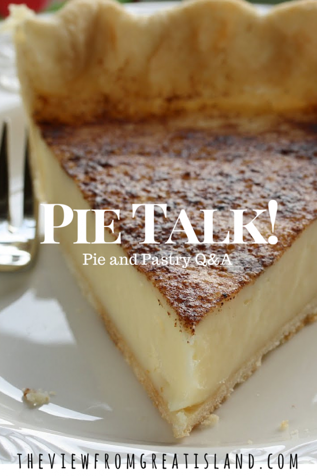 Everything you always wanted to know about pie!
