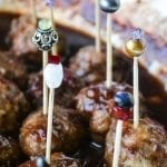 Drunken Cranberry Cocktail Meatballs