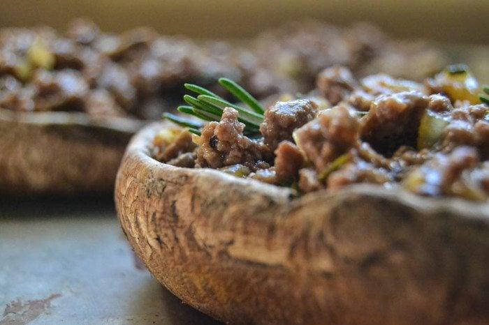 Portobello Shepherd's Pies