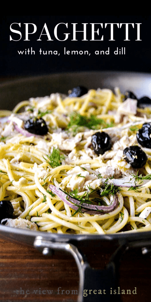 spaghetti with tuna pin