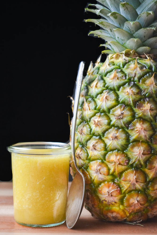 All Natural DIY Pineapple Cough Syrup +