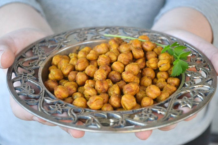Roasted chick peas