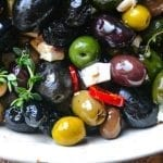 Effortless Entertaining: Roasted Olives