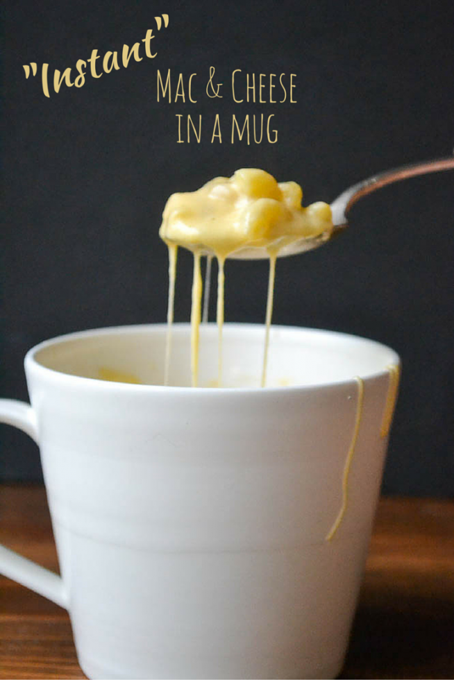 Instant Mac Cheese In A Mug
