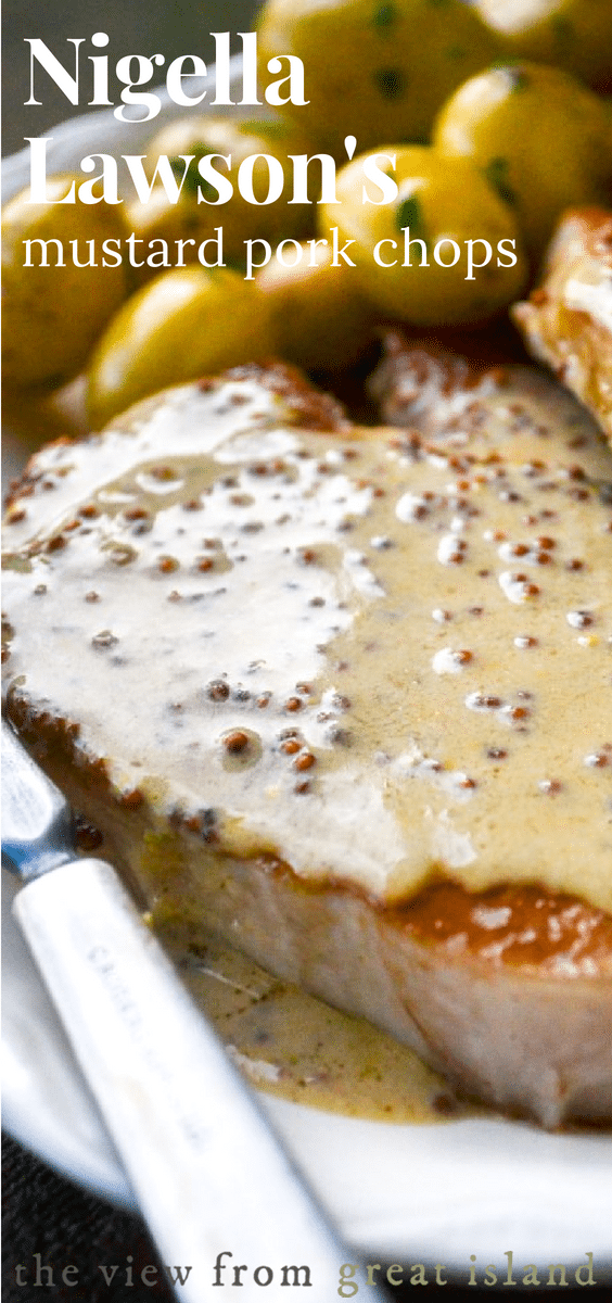 Mustard Pork Chops pin