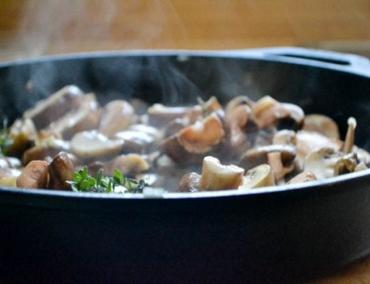 chicken thighs in marsala sauce, a restaurant worthy 30 minute meal