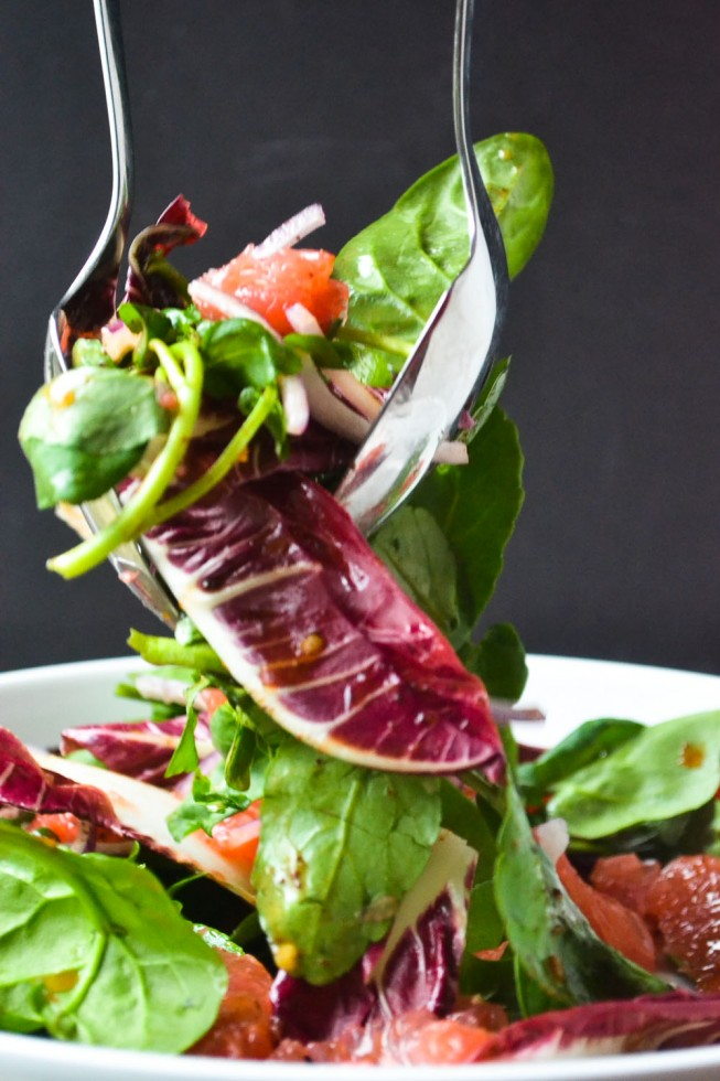 Pink Grapefruit and Watercress Salad with Sumac