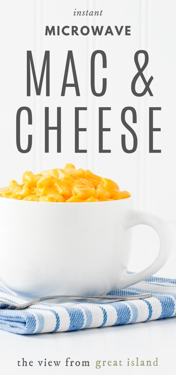 microwave mac & cheese pin