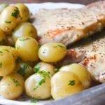 Minimal Monday: Mustard Pork Chops