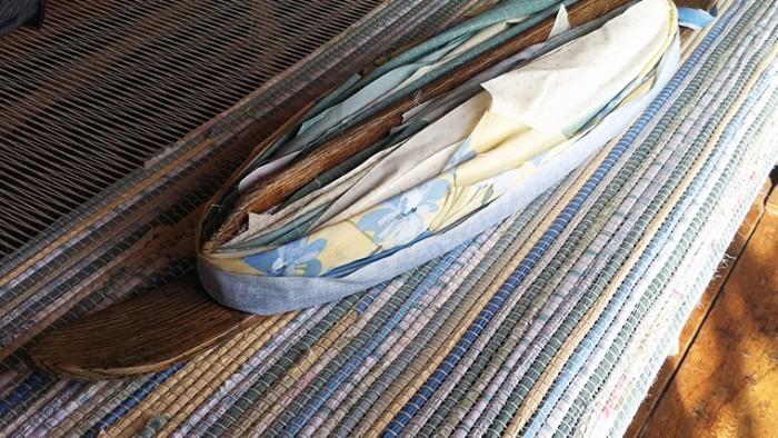 rag rug weaving Vermont Rug Farm