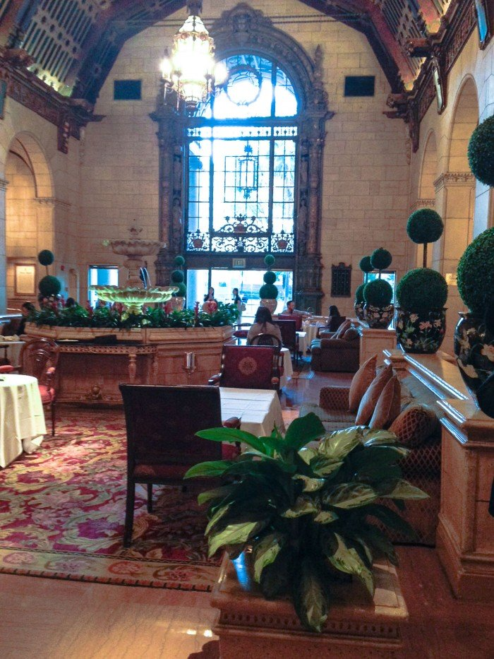 tea at the Biltmore Hotel