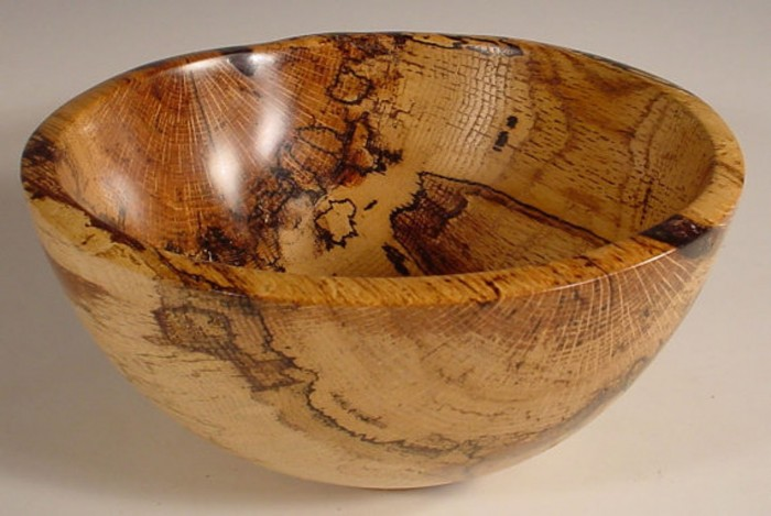 spalted Texas oak bowl
