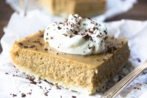Irish Coffee Cheesecake Bars