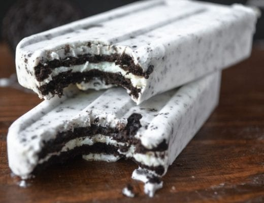 oreo cookie popsicles