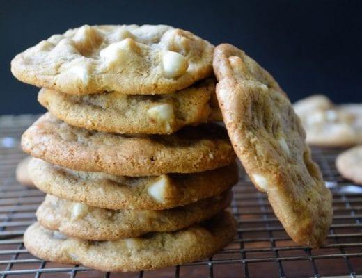gluten free macadamia chip cookies