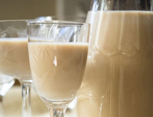 Irish Cream liqueur made from scratch