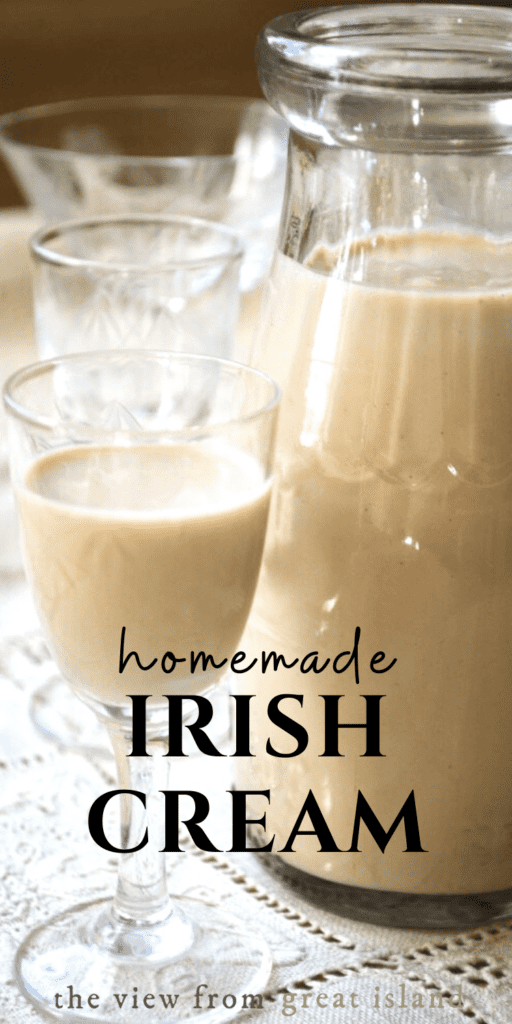Homemade Irish Cream pin